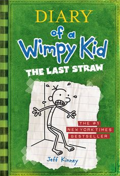 The Last Straw: Wimpy Kid #3 Available in book and audiobook.