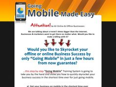 ① Go Mobile Made Easy - http://www.vnulab.be/lab-review/%e2%91%a0-go-mobile-made-easy