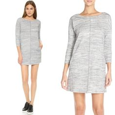 BB Dakota Boston Dress In Grey - XS to Lg - $78 **Tuesday Specials**   ~ Clothing: The Colors of Spring are 20% off, ALL Brands (Purples, Pinks/Coral, Blue, Yellow & White) ~ Dear John Denim ~ 25% off ~ Winter Clearance still in effect 50-75% off