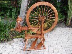Lovely spinning wheel
