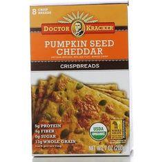 Doctor Kracker - Pumpkin Seed Cheddar