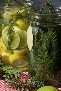 DIY Organic and All Natural Air Fresheners (How to make Natural Scent Jars)