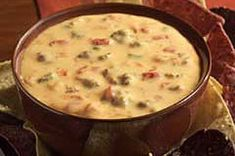 #Spicy #Velveeta #Cheese Dip with #Jalepeno&Cheddar Sausage