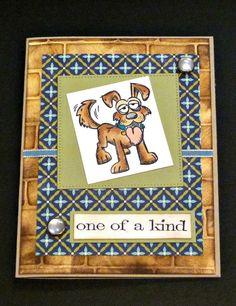 Crazy dogs card idea