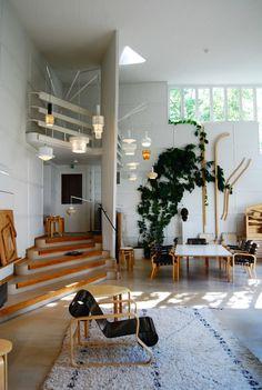 """smallspacesblog: """" Aalto Studio, Tiilimaki, Helsinki """""""
