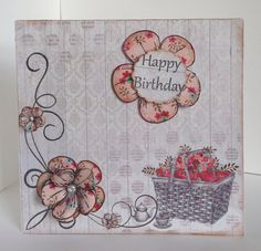 Card designed by Kay Fletcher using Al Fresco Paper Pad.