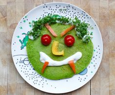 Rezepte zu Halloween: Grüne Monster-Pancakes