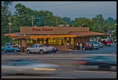 We might have to try this when we go to a Vols game!!  Pizza Palace  3132 E. Magnolia Avenue Knoxville, TN 37914  (865) 524-4388