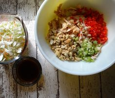Asian Cashew Turkey Salad - so easy to make and so good!!