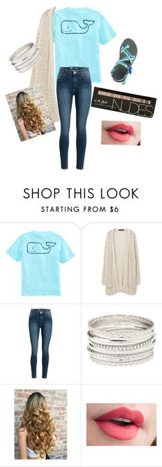"""School"" by kaykb on Polyvore featuring Vineyard Vines, Violeta by Mango, Chaco and Charlotte Russe"
