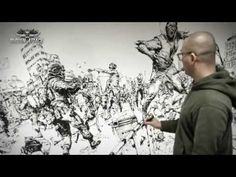 김정기 Kim Jung Gi Sudden attack 통제구역 6 Drawing