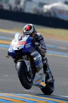 Jorge Lorenzo, 36hrs after having surgery for a broken collarbone' he places 5th at Assen, that's a badass!