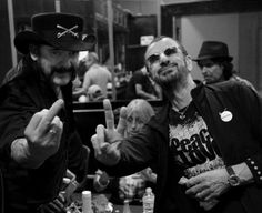 Lemmy and Ringo