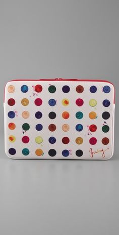 Watercolor Neoprene Laptop Case by Juicy Couture, $68.00