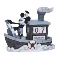 Mickey Mouse Perpetual Calendar - New Arrivals - Precious Moments