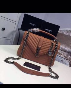 Ysl Handbags, Luxury Handbags, Purses And Handbags, Luxury Purses, Luxury Bags, Sac Michael Kors, Best Bags, Backpack Purse, Cute Bags
