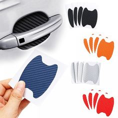 Carbon Fiber Car Handle Protection Film Price: $ 5.00 & FREE Shipping #fashion Rx7, Mazda, Accessories Store, Fashion Accessories, Phone Accessories, X Car, Door Stickers, Car Set, Supercar