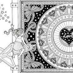The Night Voyage A Magical Adventure And Coloring Book Time Adult