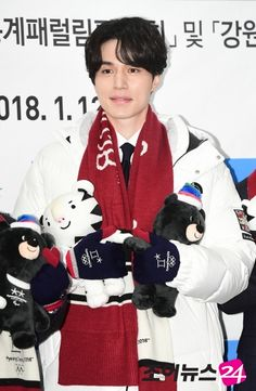 Lee Dong Wook Also Selected as Promotional Ambassador for 2018 Pyeongchang Winter Olympics - A Koala's Playground
