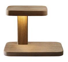 Lampe de table en chêne Piani Big, Ronan & Erwan Bouroullec (Flos)