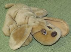 """JRL Lonely Puppies For Adoption Plush DOG 1985 Stuffed 10"""" Beige Light Brown…"""