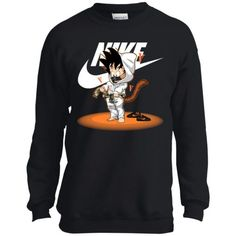 Dragonball x Nike Hypebeast Goku Kid Youth Sweatshirt   Dragonball Goku #dragonball #hypebeast #sweatshirt #youth
