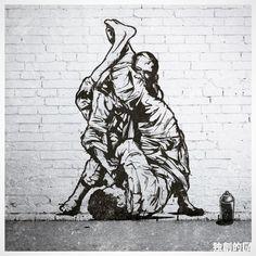 "GARTISTA on Instagram: ""Jiu Jitsu Off The Wall @bjjstyle #jjstyle #offthewall #jiujitsuoffthewall #brazil #japan #uk #2016 #独創的GA #jiujitsuvandal #bjj #brazilianjiujitsu #nogi #graffiti #grappling #bjjart #beastmodebygartista #bjjmag #artsuave #bjjlifestyle #gb72 #design #illustration #streetart #artworkbygartista #streetart #gartista #legends #mundial2004 #blackbelt #vintage #bjjgraffiti"""