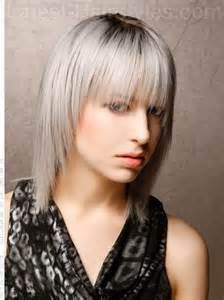 Rocker girl hair.  '80's hairstyle I think I want. LOVE the silvery blue.