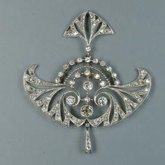 Diamond brooch by Verer