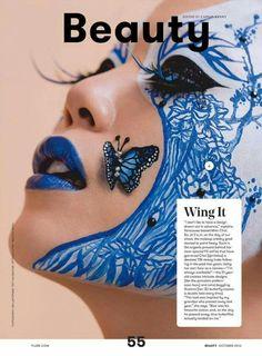 Mimi Choi (MUA) for Flare Magazine