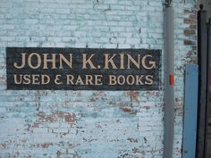 John K. King Used & Rare Books in the Corktown neighborhood of Detroit, Michigan King Book, Moving To Los Angeles, Great Lakes, One In A Million, Book Worms, New Books, Sayings, Places, Cat Tails