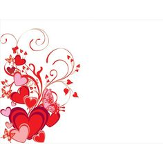 red heart background design - Google Search