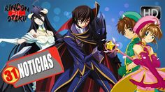Code Geass 3ra Temporada | Overlord Pelicula | Sakura Card Captors 2da T...