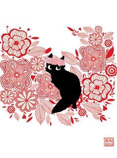 """Flower Prowler"" by Lea Gillette from Dijon, France"