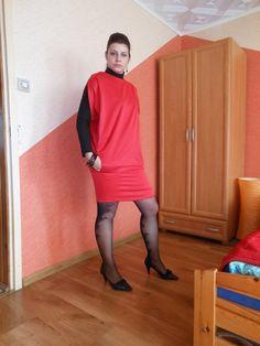 sukienka po uszyciu