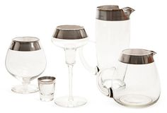 Dorothy Thorpe Barware Set, 5 Pcs. on OneKingsLane.com