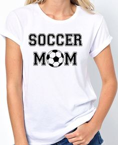 Soccer Mom T-Shirt - BadassPrinting.com