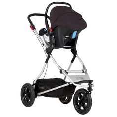 Mountain Buggy Plus One Inline Double Stroller -Black - Double Stroller - Ideas of Double Stroller - Mountain Buggy Plus One Inline Double Stroller -Black Black Best Double Stroller, Single Stroller, Double Strollers, Baby Strollers, Side By Side Stroller, Phil And Teds, Mountain Buggy, Jogging Stroller, Travel System