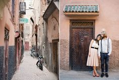 Alice and Sams Morocco Engagement by Jose Villa