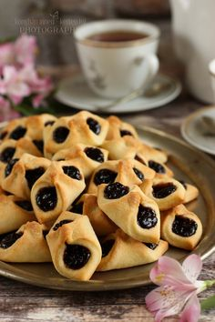 Pastry Recipes, Cookie Recipes, Dessert Recipes, Sweet Pastries, Bread And Pastries, Waffle Cake, Torte Cake, Breakfast Menu, Hungarian Recipes