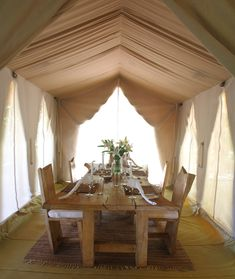 Luxury tents at Naibor Private Retreat Kenya Diani Beach, Luxury Tents, Best Spa, Outdoor Rooms, Amazing Bathrooms, Table Settings, Dining Table, Resorts, Folding Napkins