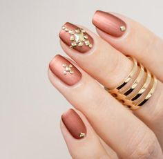 Diseños de uñas elegante   Decoración de Uñas - Manicura y Nail Art