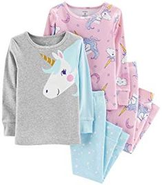 Looking for Carter's Girls Pajamas PJs Cotton Snug Unicorn Set ? Check out our picks for the Carter's Girls Pajamas PJs Cotton Snug Unicorn Set from the popular stores - all in one. Baby Girl Pajamas, Cute Pajamas, Carters Baby Girl, Girls Pajamas, Baby Girls, Toddler Girls, Baby Boy, Cotton Pyjamas, Cute Baby Clothes