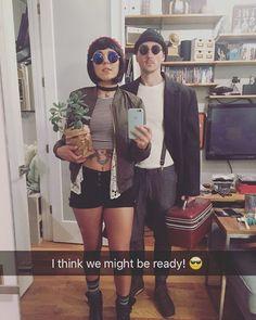 """Leon - The Professional"" couples costume. Amazing!"