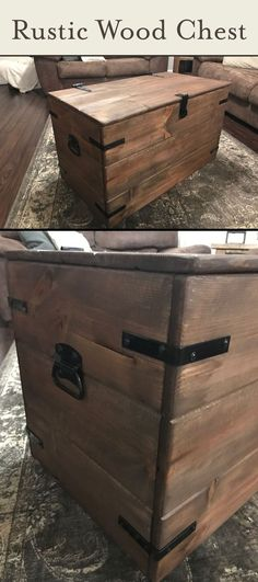 With a little elbow grease, spare time, and $120ish, you can create a high-quality, long-lasting wood chest.