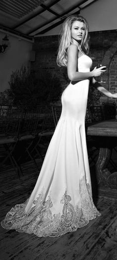 Marilyn from Galia Lahav's St Tropez Cruise Collection