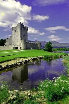 Built in the late 15th century, Ross Castle is the ancestral home of the O'Donoghue clan. On the edge of Loch Leane, in Killarney National Park, County Kerry, Ireland, it is now a B&B.