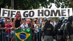 Brazilian's Feel About The World Cup Days Ahead Of The Games. (13)