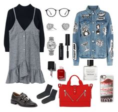 """""""Breakfast"""" by brunaf19 ❤ liked on Polyvore featuring Givenchy, Frame, Kenzo, Topshop, Ray-Ban, Tom Daxon, David Yurman, Rolex, Bobbi Brown Cosmetics and Casetify"""