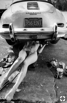 My wife offer to fix our old Porsche. I couldn't resist. I said ok fine.